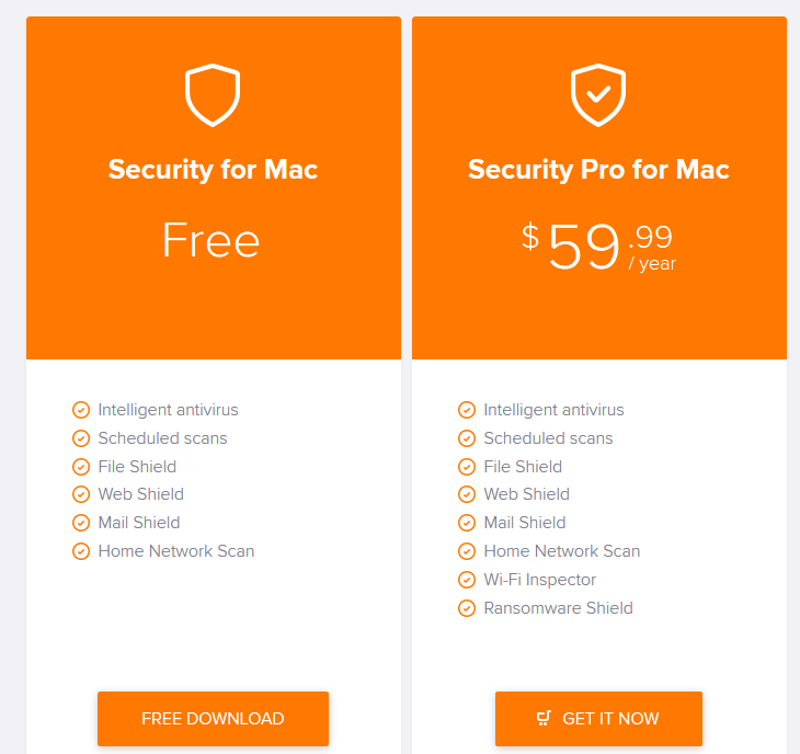 avast mac price