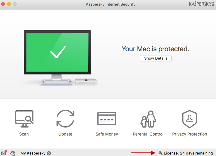 Kaspersky for Mac