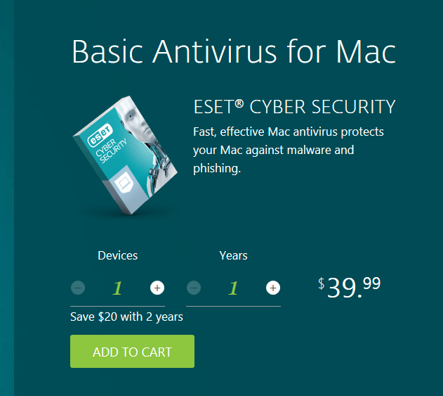 eset mac price